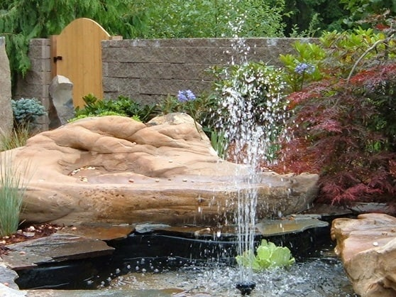 water features installed in gig harbor